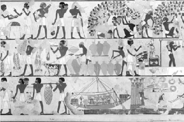 egypt_nástěná malba
